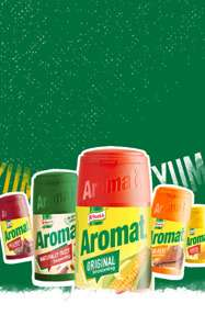 Aromat - Website - Mobile Banners