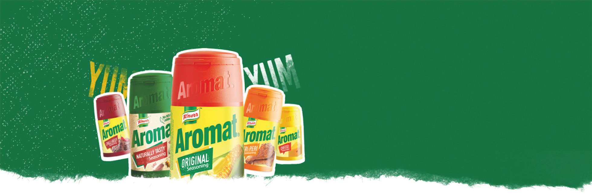 Aromat About Us Banner